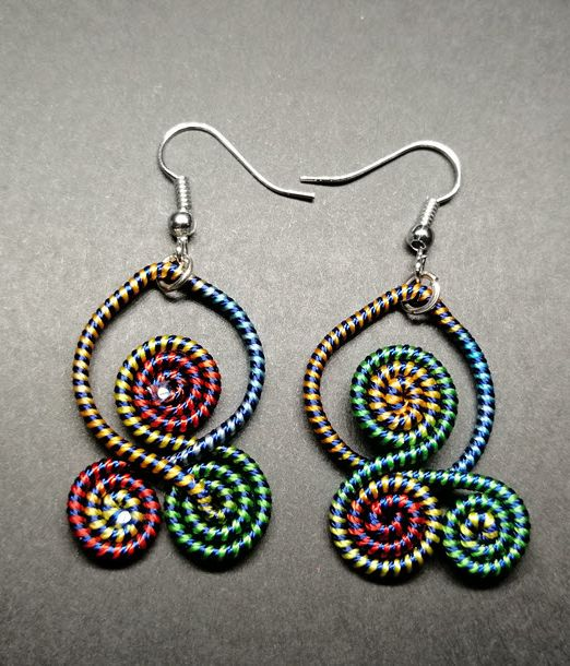 Handicraft Earrings Vikerkaar