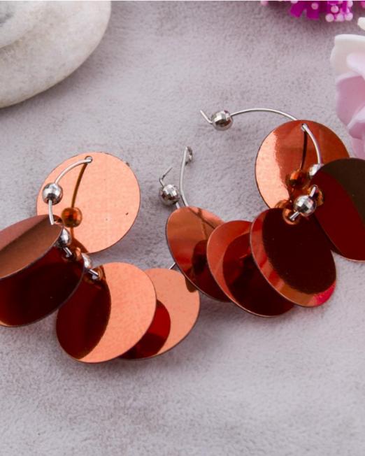 Päikese helmed earrings